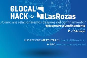 Jóvenes de entre 28 y 30 años en un evento telemático del 15 y 17 de mayo, #GlocalHackLasRozas, trataran cuestiones sobre las relaciones personales