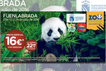 El precio será de 16 euros por persona para todos los fuenlabreños