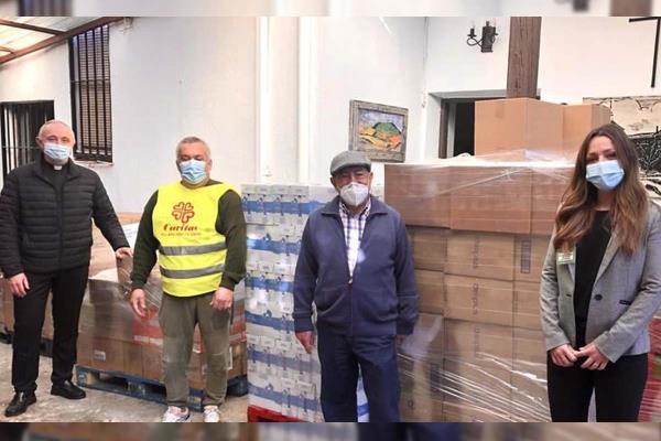 3.000kg de productos de primera necesidad ha donado Mercadona a Cáritas Villaviciosa de Odón