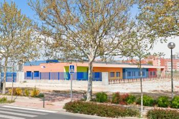 Este curso escolar se inicia con un nuevo colegio a medio funcionamiento en el barrio del Vivero