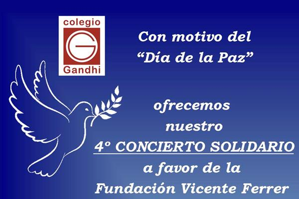 4º Concierto Solidario del Colegio Gandhi de Villaviciosa