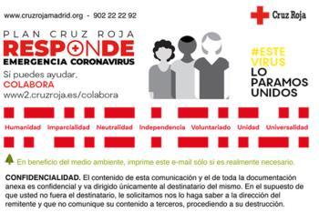 Por el Día Internacional de la Juventud Cruz Roja conmemora su compromiso ante la COVID-19