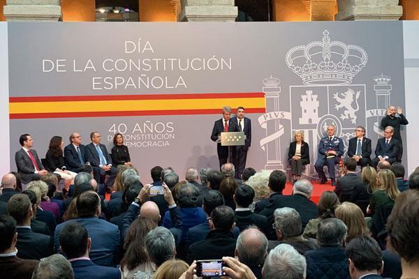 Madrid celebra el 40 aniversario de la Constitución en nuestra comunidad