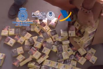 La policía ha desarticulado una organización criminal, dedicada al contrabando de tabaco y al blanqueo de capitales