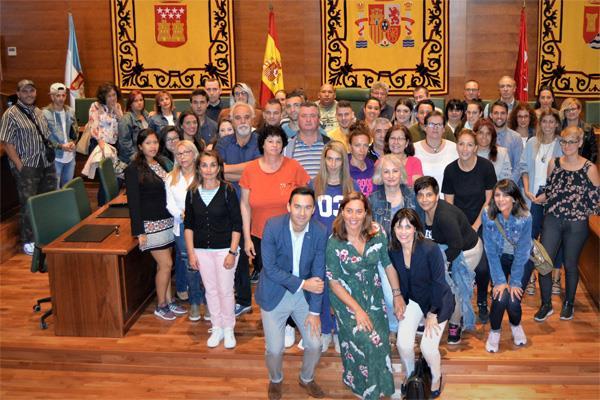 51 parados de larga duración se incorporan al Ayuntamiento de Arroyomolinos