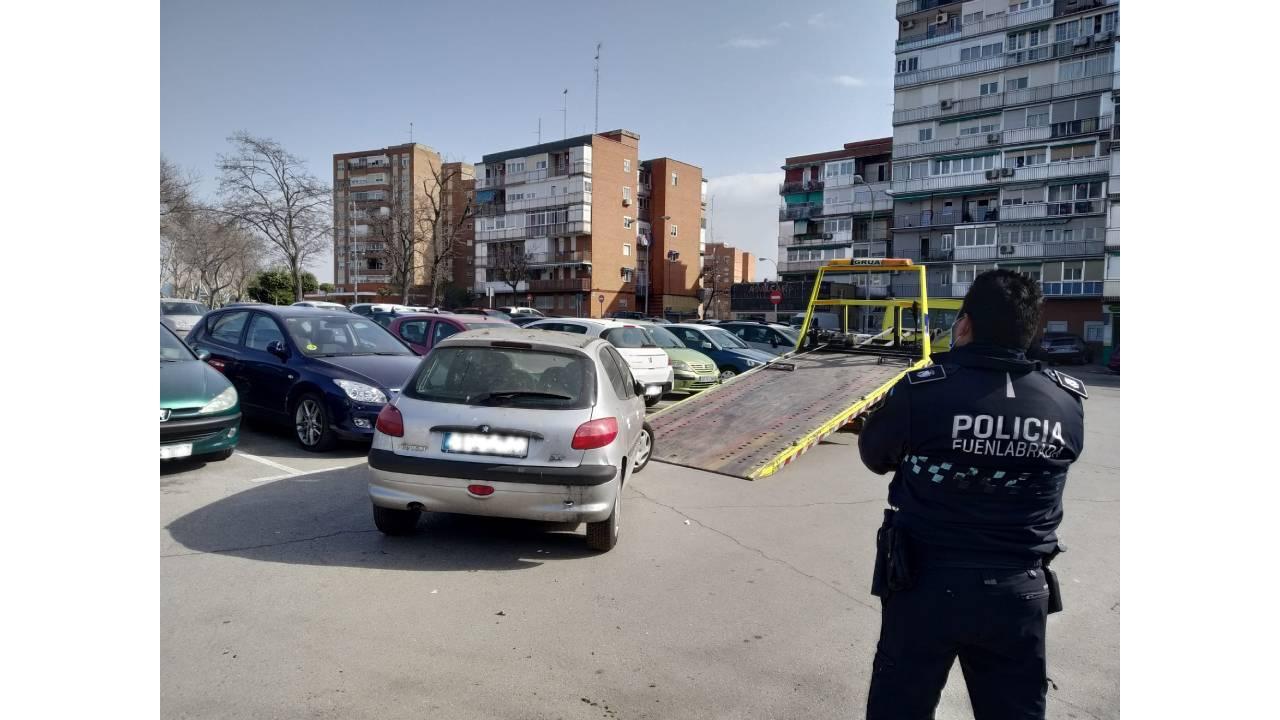 """El número ha descendido respecto al año anterior en esta inciativa municipal de """"La calle no es desguace"""""""