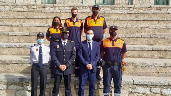 Siete voluntarios se han incorporado a la Protección Civil de Arroyomolinos