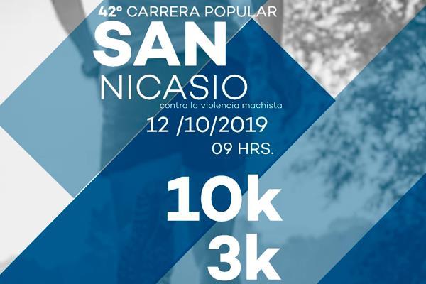 Abiertas las inscripciones para la 42º Carrera Popular de San Nicasio