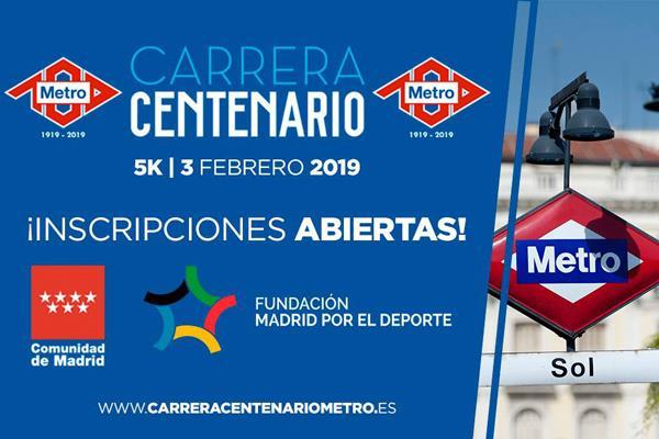 Celebra el centenario del Metro de Madrid corriendo
