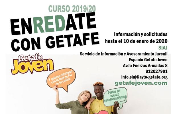 Abierto el plazo para 'Enrédate con Getafe'