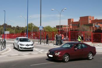 El fin de la obra permitirá un acceso más rápido al hospital de Leganés