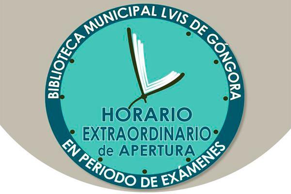 La biblioteca municipal Luis de Góngora, amplía su horario en la época de exámenes