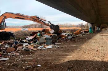 La formación municipal propone una inspección ambiental y mapeo de todos los vertederos existentes