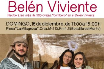 El domingo 15 de diciembre, llegarán a la Finca La Milagrosa