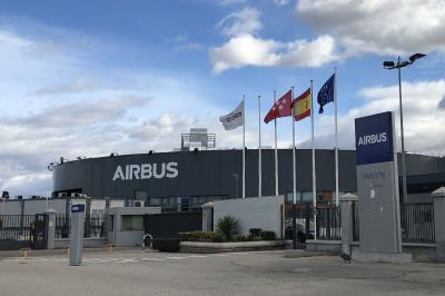 Lee toda la noticia 'Airbus Group Insite reaunda hoy la producción con 60 casos de Covid-19 confirmados en Madrid'