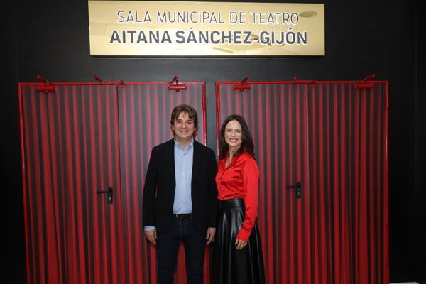 Aitana Sánchez-Gijón da nombre al teatro del Centro Cívico El Vivero