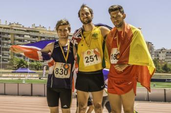 Nuestro deportista volvió a demostrar su talento en la competición celebrada en la ciudad de Málaga