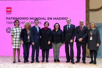 La ciudad complutense se ha dado cita en el stand de Madrid