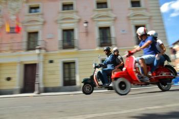 El sábado 9 arranca el encuentro de estas populares scooters en nuestra ciudad
