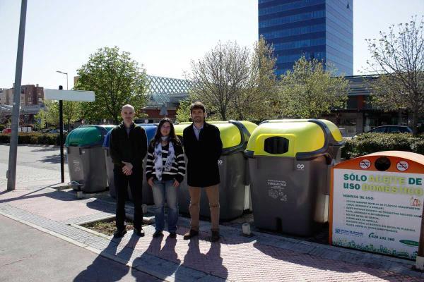 Alcalá continúa fomentando el reciclaje