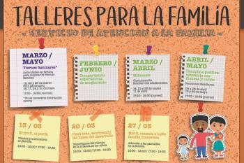Los talleres estarán orientados a mejorar las relaciones entre padres, madres e hijos o hijas adolescentes