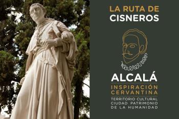 Los turistas podrán recorrer los lugares más relacionados con el fundador de la Universidad de Alcalá