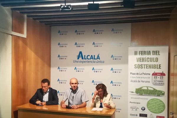 Alcalá presenta la II Feria del Vehículo Sostenible
