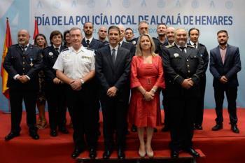 Acto de entrega de medallas y condecoraciones con motivo del Día de la Policía Local
