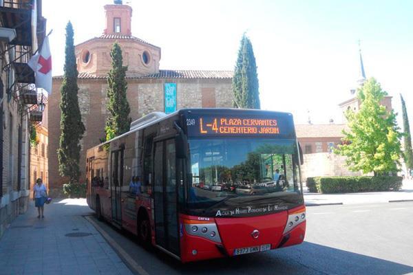 Alcalá rediseña sus líneas de autobús