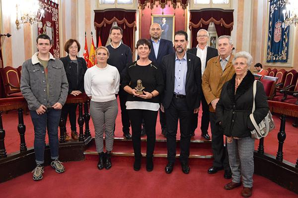 En la presentación se ha homenajeado a la judoka alcalaína Mari Carmen Bellón