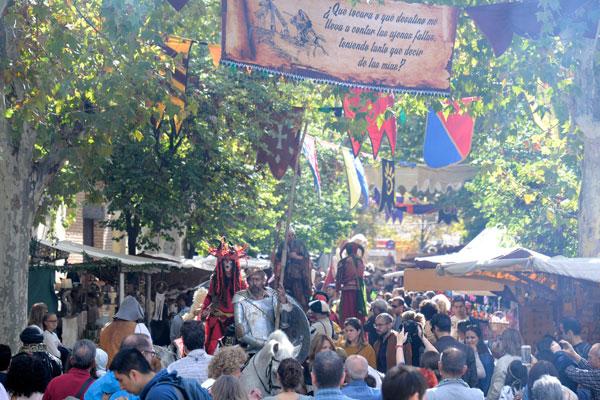 En conmemoración del aniversario del bautismo de Cervantes en la ciudad complutense