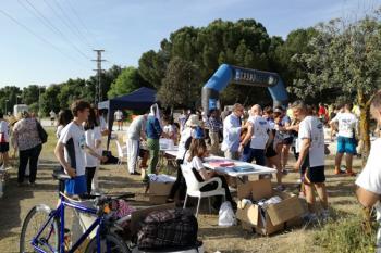 La carrera de 5 kilómetros por el monte de Valdelatas busca recaudar fondos para la Fundación Prodis