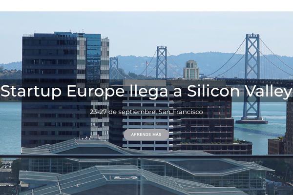 El próximo lunes 23 de septiembre, una delegación del ayuntamiento acudirá a la quinta edición de StarUp Europe comes to Silicon Valley