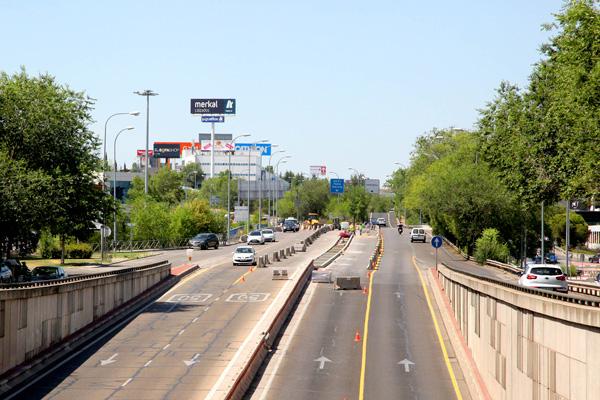 Las obras de mejora están enfocadas en hacer una de las principales entradas más urbana