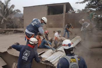 Una ayuda económica cedida a la ONG Bomberos Unidos Sin Fronteras  para financiar una planta potabilizadora