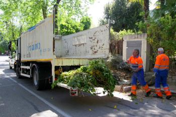El volumen de estos residuos no debe superar el metro de longitud ni los 30 kilos de peso