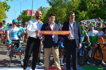 El municipio se ha volcado con la última etapa de la Vuelta durante todo el fin de semana.
