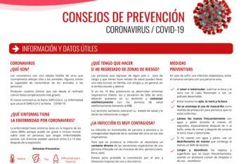 Recientemente se ha constituido en la localidad un Comité Municipal de Prevención del Coronavirus
