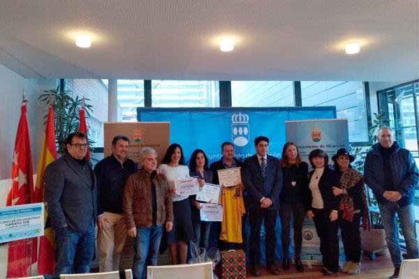 Alcorcón premia a los ganadores del concurso de Escaparatismo Navideño