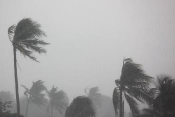 La Agencia Estatal de Meteorología ha avisado de los fuertes vientos que habrá durante todo el día en la zona