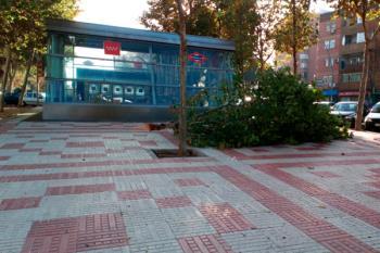 Se han sucedido varios incidentes y accidentes durante estos días, el más grave en Alcalá