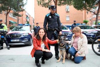 El can, un pastor belga Malinois, será adiestrado para la detección de droga en la ECIDEF