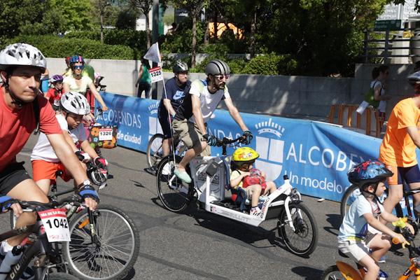 Durante el domingo también se celebró la Carrera de las Capacidades para personas con discapacidad