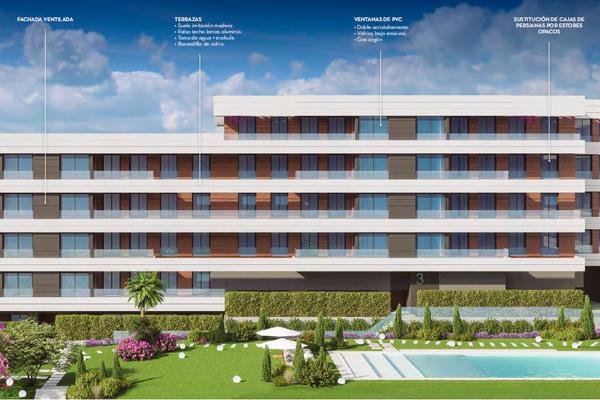 La promoción Aires de Fuentelucha está formado por 170 viviendas integradas en una urbanización