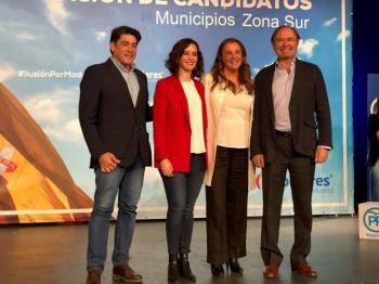 Fue presentada este domingo, 17 de marzo, como la candidata a la Alcaldía de Alcorcón junto al resto de candidatos de la zona sur de Madrid