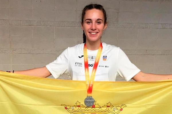 Andrea Moreno, se cuela en el futuro del atletismo español