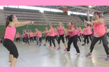 El Hospital Severo Ochoa y la AECC organizan su 'ZUMBA ROSA' en el Día Internacional del Cáncer de Mama