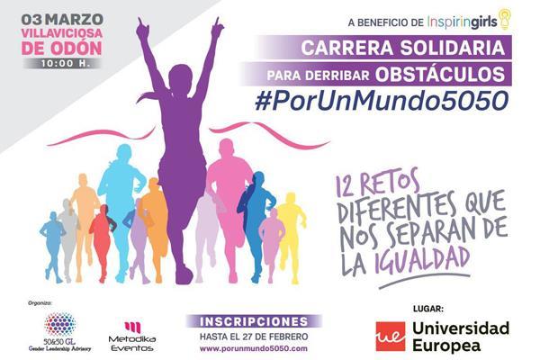 Llega a Villaviciosa la I Carrera Solidaria #PorUnMundo5050
