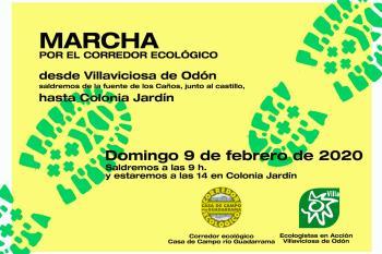 Organizada por Ecologistas en Acción, la cita será el domingo 9 de febrero