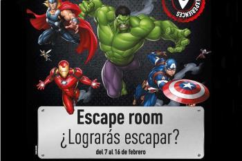 Del 7 al 16 de febrero, se instalarán dos salas de juego diferentes para ayudar a Spiderman y a Iron Man